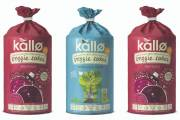 Kallø debuts new lentil and pea veggie cakes