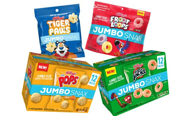 Kellogg's converts cereal brands into on-the-go Jumbo Snax