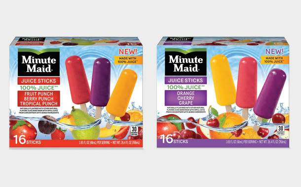 J&J Snack Foods to release Minute Maid frozen juice sticks