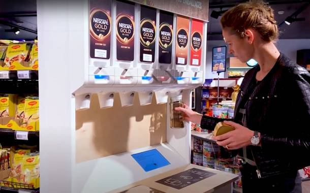 Nestlé pilots refillable coffee dispensers in Switzerland