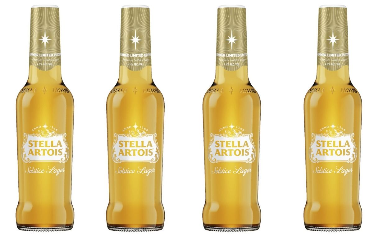 Stella Artois unveils new Solstice Lager for summer