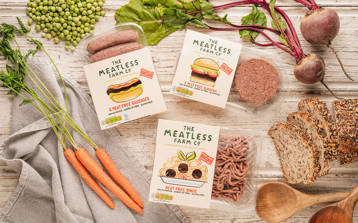 Meatless Farm removes soy and opts for pea protein in updated recipe