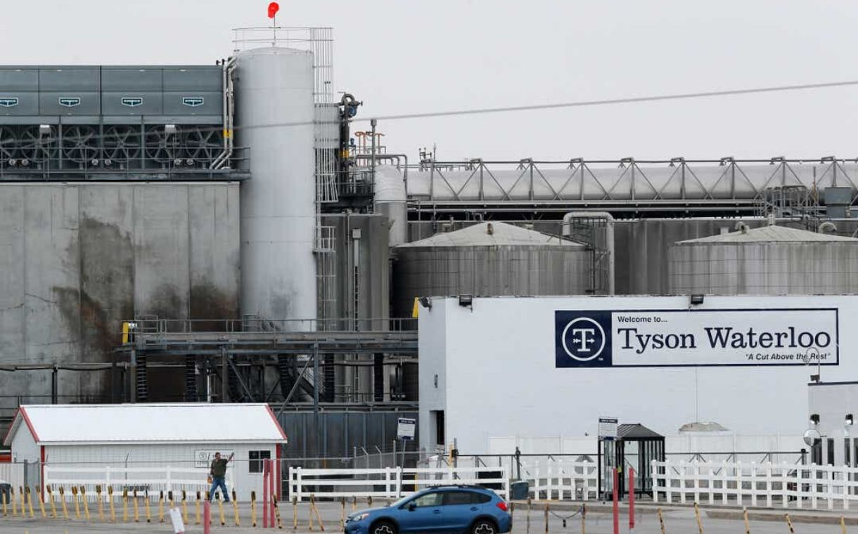 58% of workers tested for Covid-19 at Tyson Foods plant 'were positive'