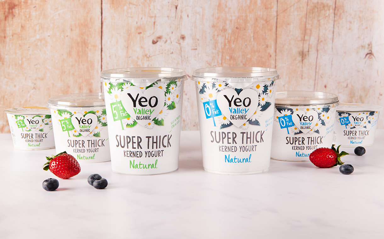 Yeo Valley releases new Super Thick Kerned Yogurt in UK