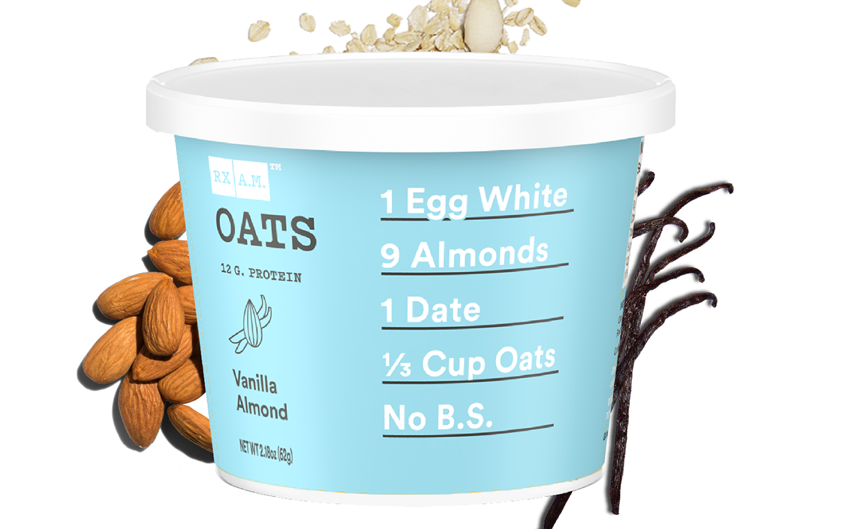 Rxbar adds Vanilla Almond flavour to RX A.M Oats range