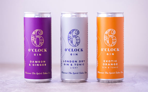 6 O'clock Gin to release new range of RTD flavoured gins