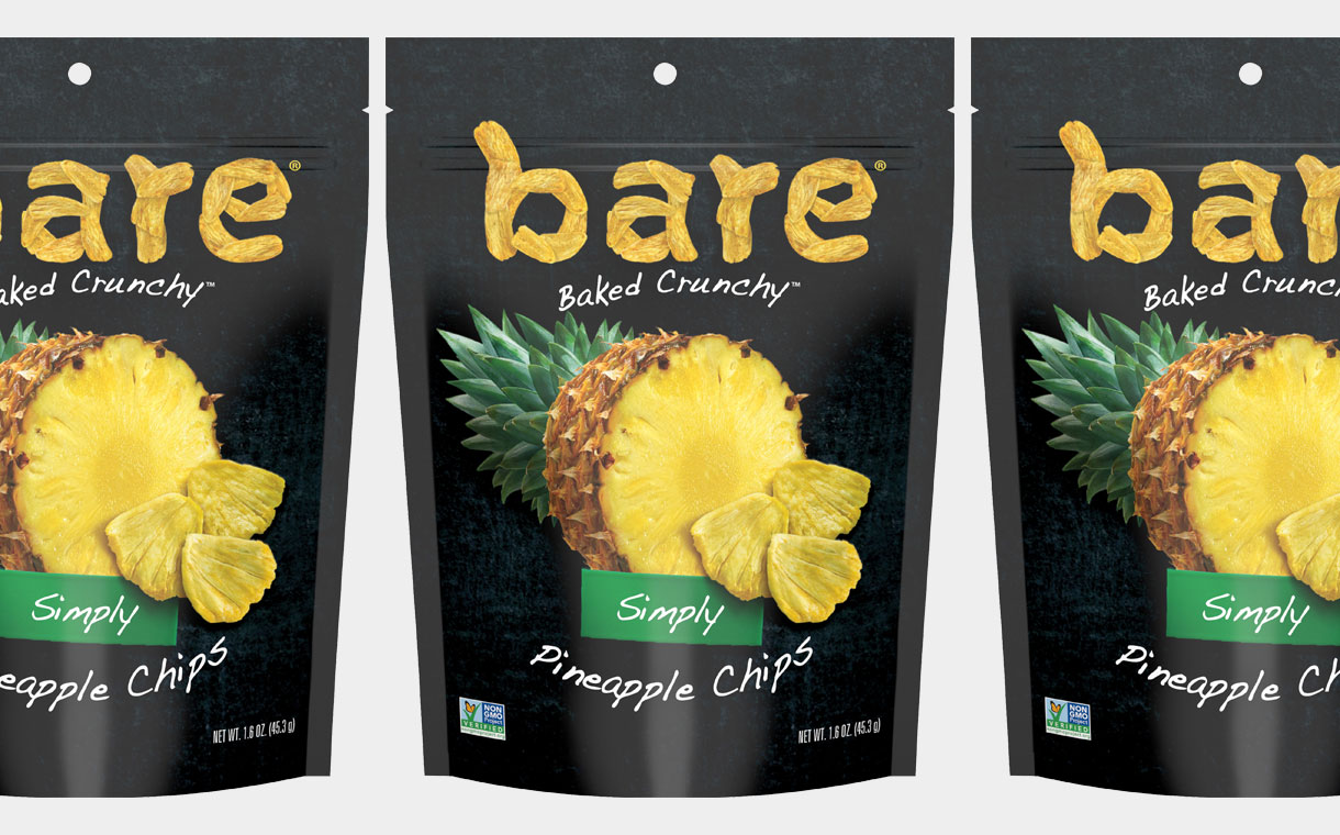 Bare Snacks releases Simply Pineapple Chips in the US