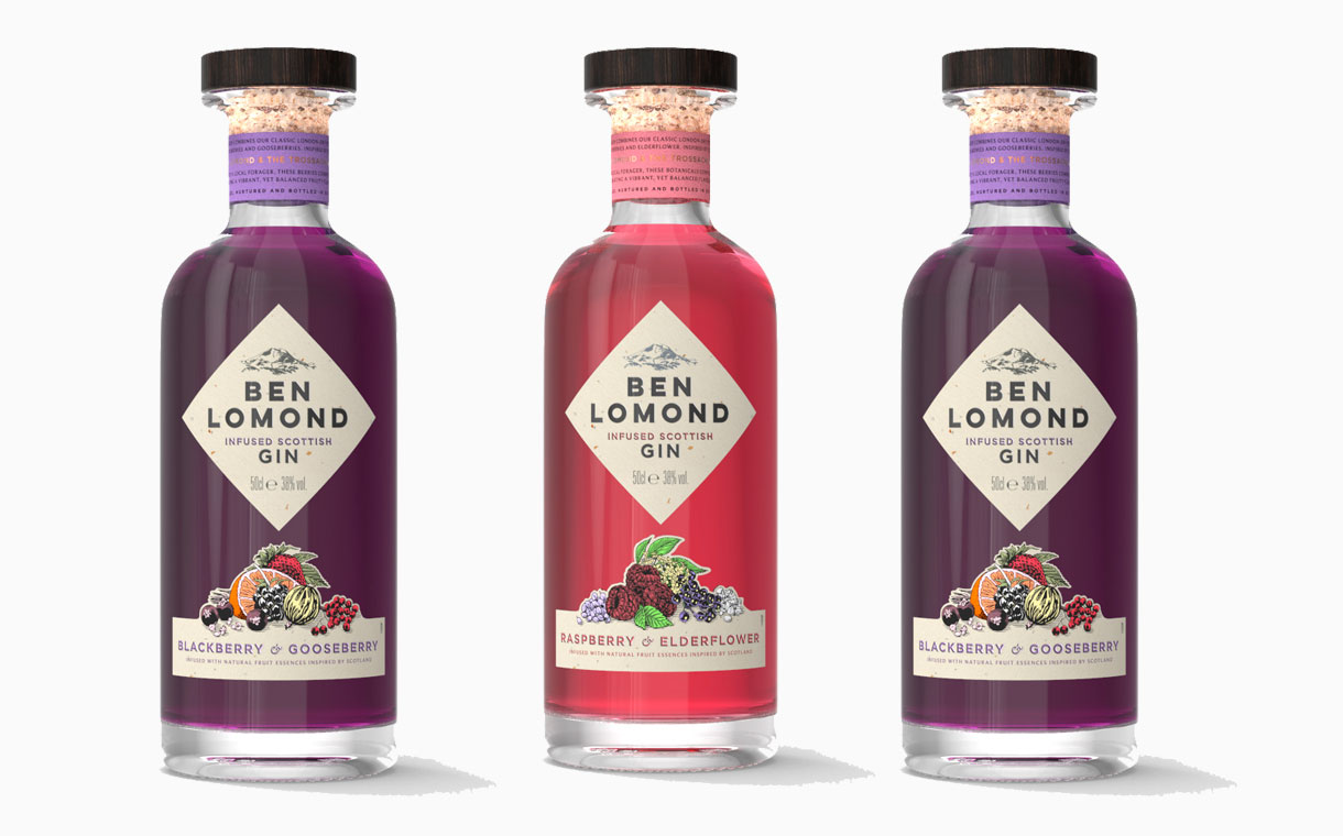 Ben Lomond Gin releases two new flavoured gins in the UK