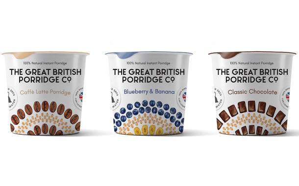 The Great British Porridge Co. launches new Breakfast Bowls