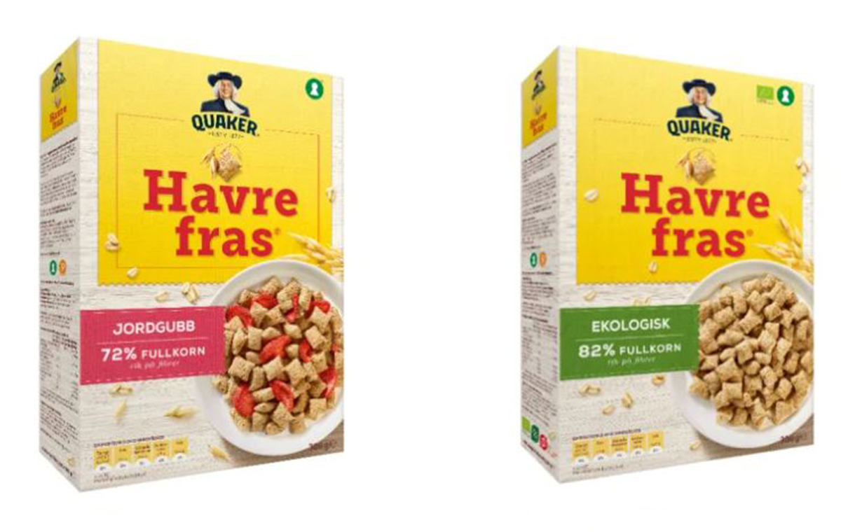 PepsiCo to sell healthy cereal brand Havrefras to Orkla