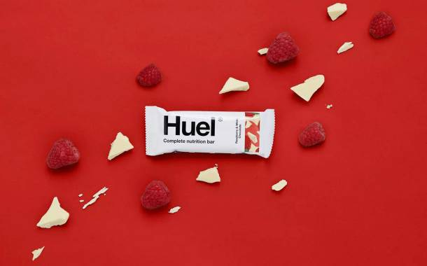 Huel adds vegan white chocolate product to snack bar range