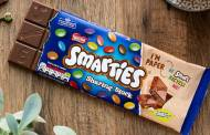 Nestlé releases Smarties bar in recyclable paper packaging