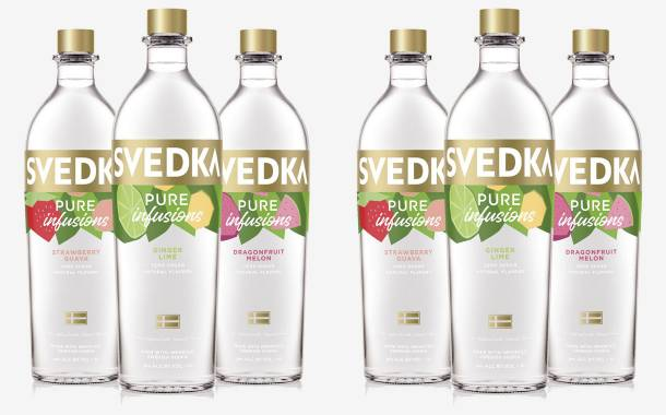 Svedka Vodka launches new range of vodka infusions