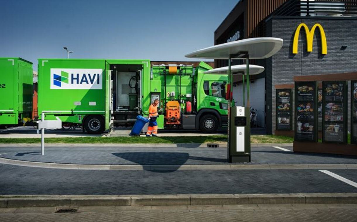 McDonald's launches oil-to-biofuel partnership in the Netherlands