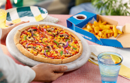 Domino's trials fresh hand-stretched vegan dough