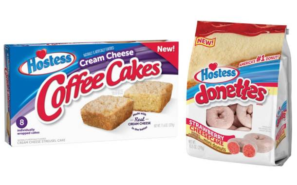 Hostess Brands unveils new Donette and Coffee Cake flavours