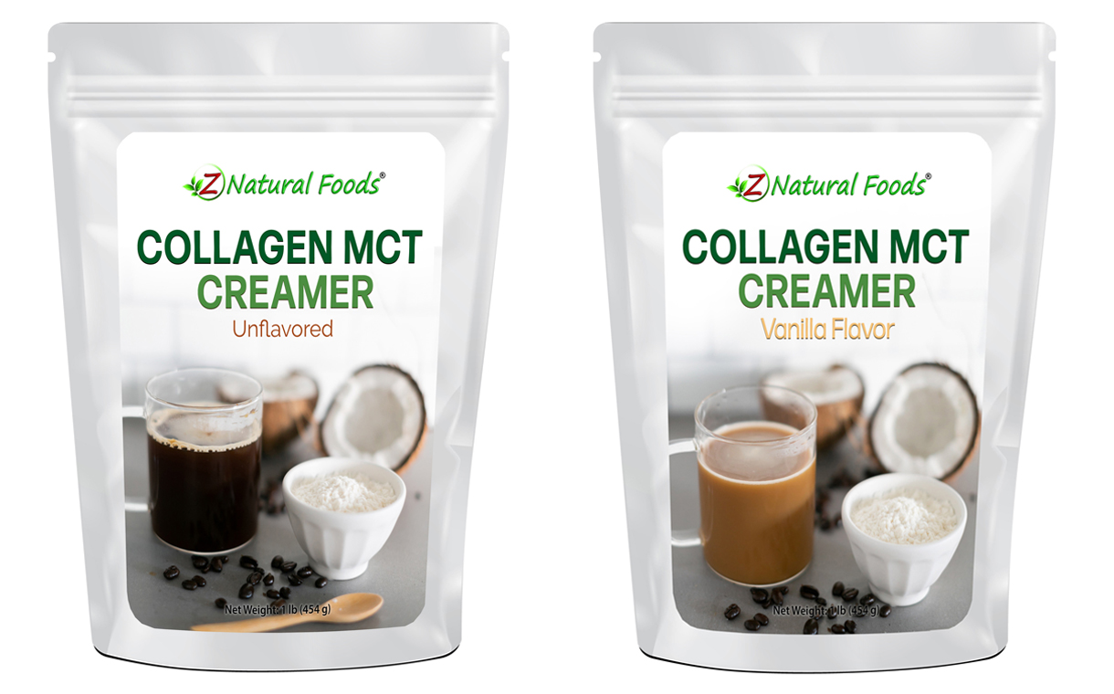 Z Natural Foods releases two collagen-based coffee creamers