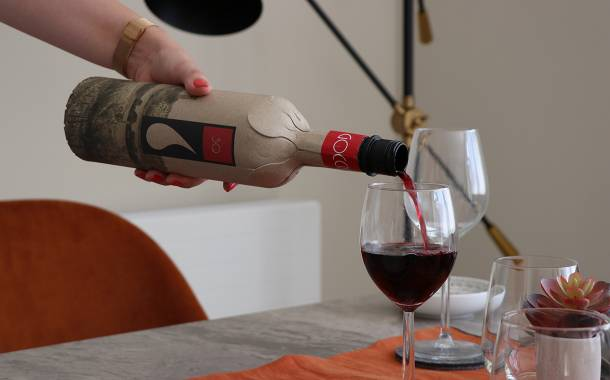 Frugalpac debuts paper-based bottle for wine and spirits