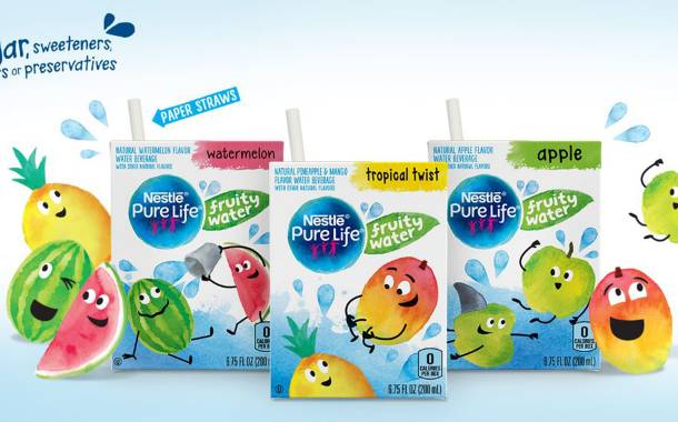 Nestlé Pure Life introduces fruity water for kids in US