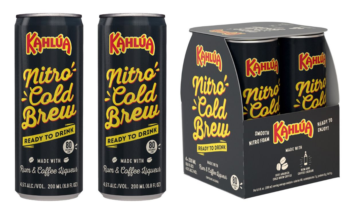 Pernod Ricard launches Kahlúa nitro cold brew cocktail