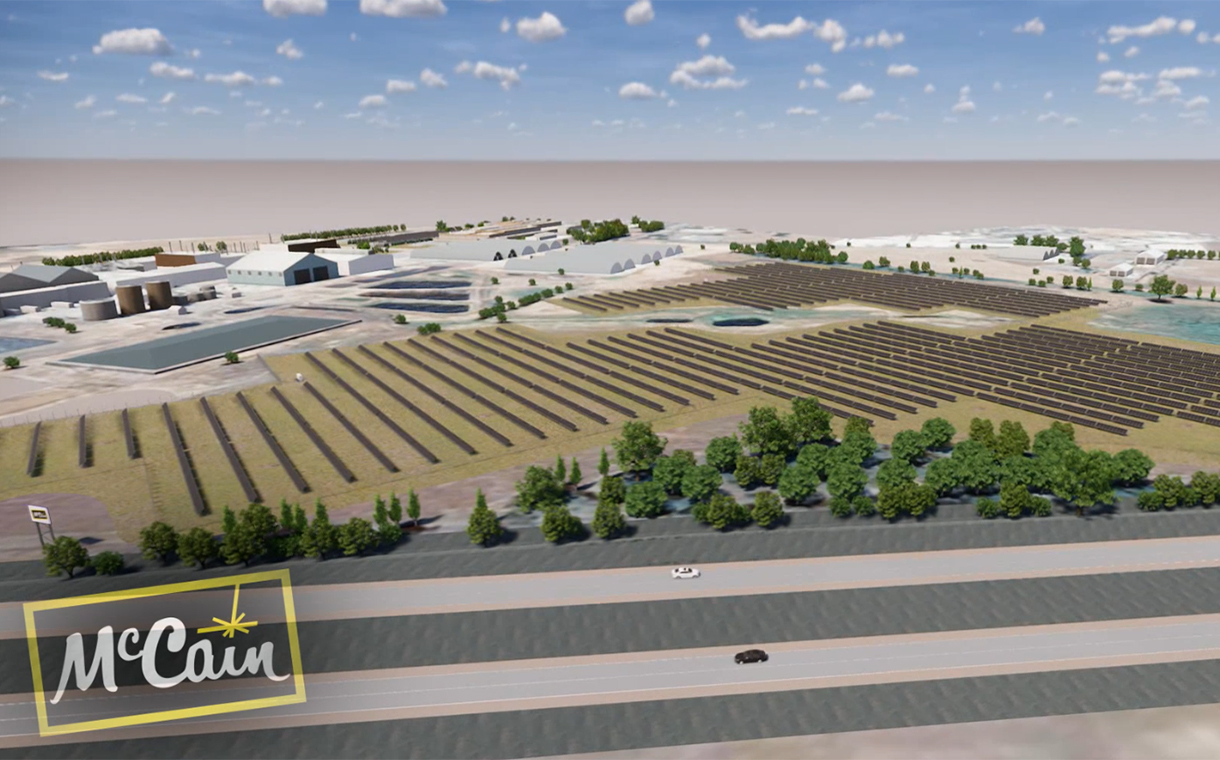 McCain Foods to build renewable energy system in Australia