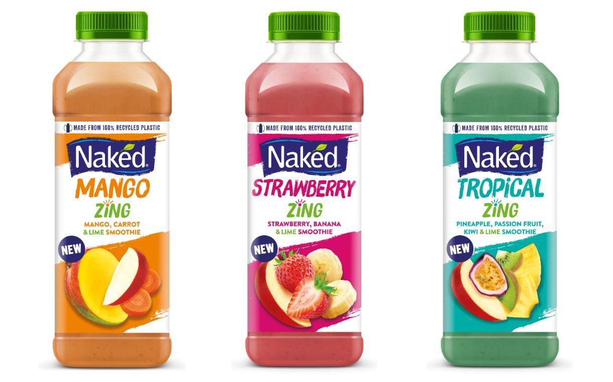 PepsiCo's Naked Juice introduces new smoothies with a citrus twist