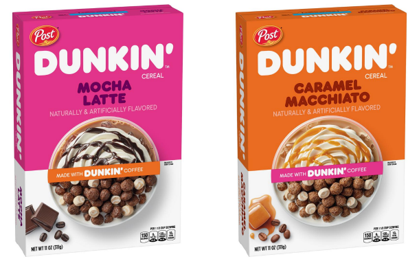 Post Cereals and Dunkin' team up to launch coffee cereal