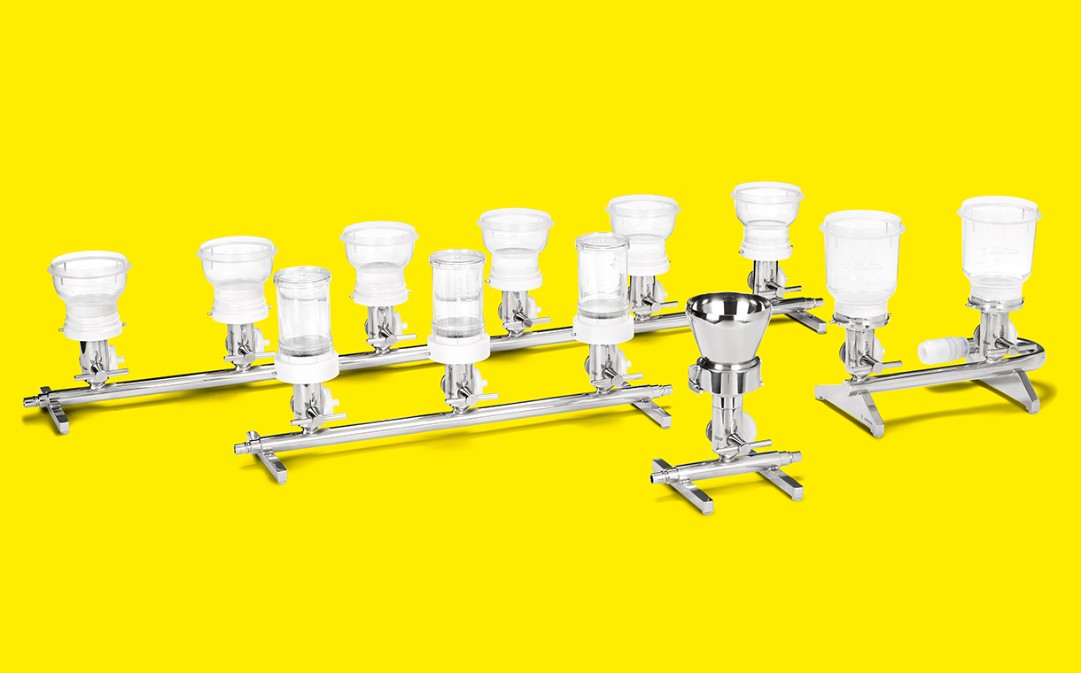 Microsart® Manifold - The filtration manifold that adapts to your needs
