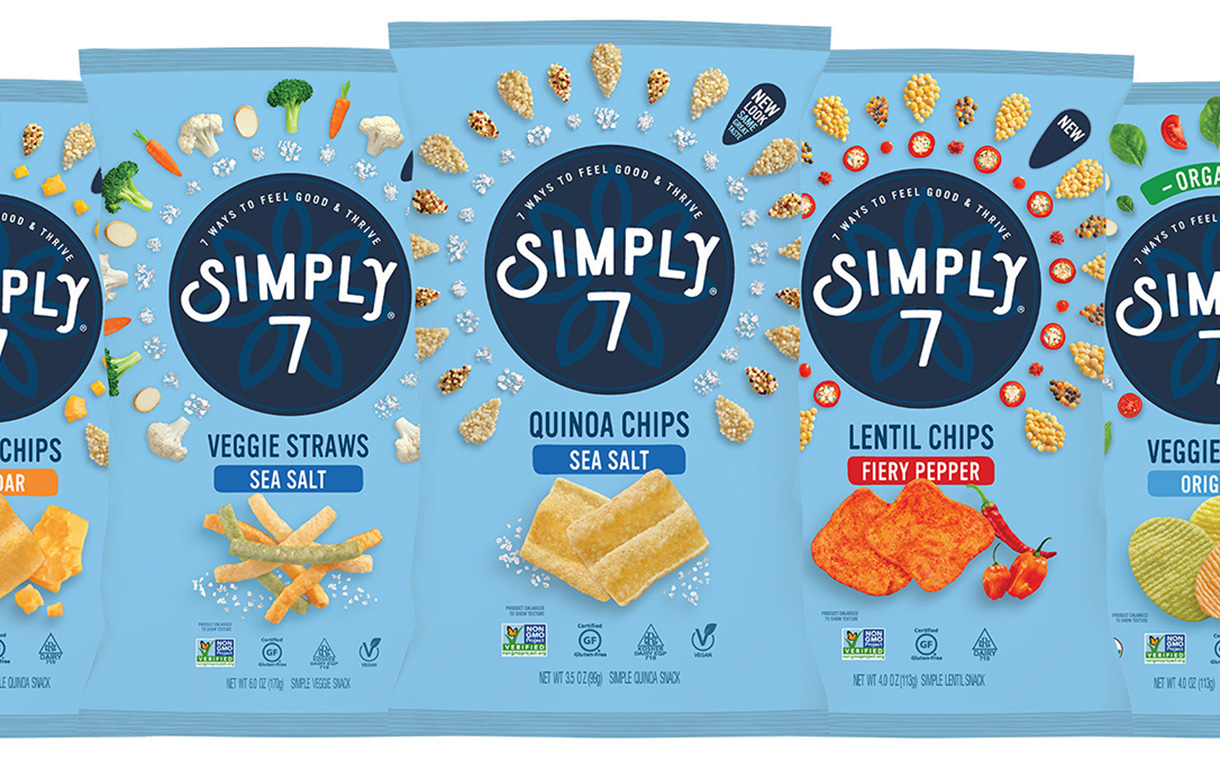 Simply 7 adds two new veggie snacks to line-up