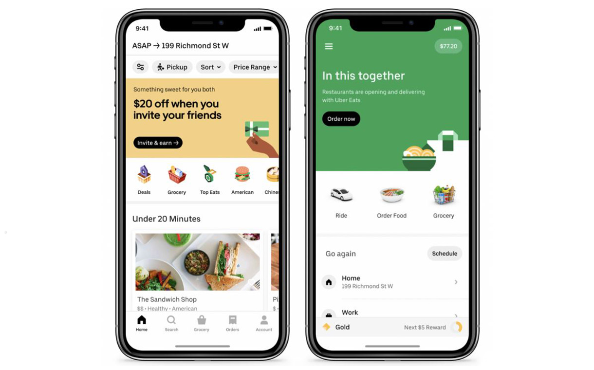 Uber launches on-demand grocery delivery service