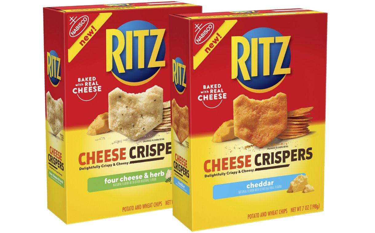 Cracker brand Ritz unveils new Cheese Crispers offering