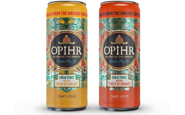 Opihr Gin to launch ready-to-drink canned format