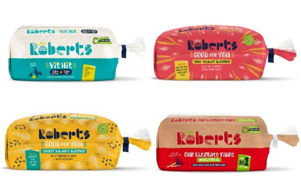 Roberts Bakery launches four new 'healthy' loaves in UK