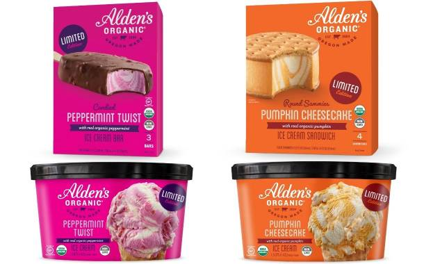Alden's Organic to launch limited-edition seasonal flavours