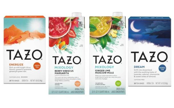 Unilever expands Tazo range with new blends