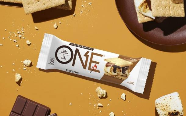 One Brands unveils limited edition S'mores protein bar