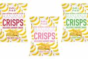 Katie's Food Co. debuts Banana Crisps range in UK
