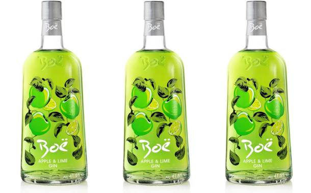 Boë debuts Apple & Lime flavour gin