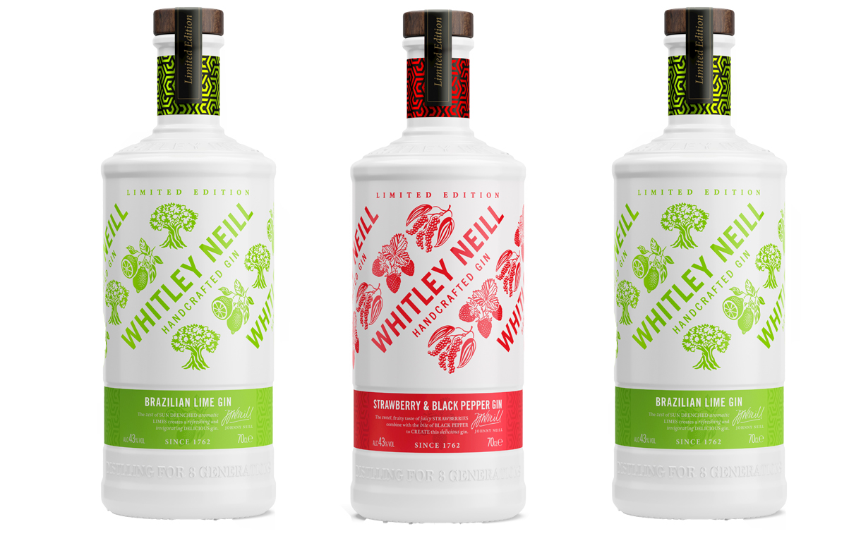 Whitley Neill releases two limited-edition flavoured gins