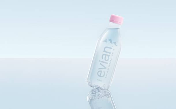 Evian introduces label-free, fully-recyclable water bottle