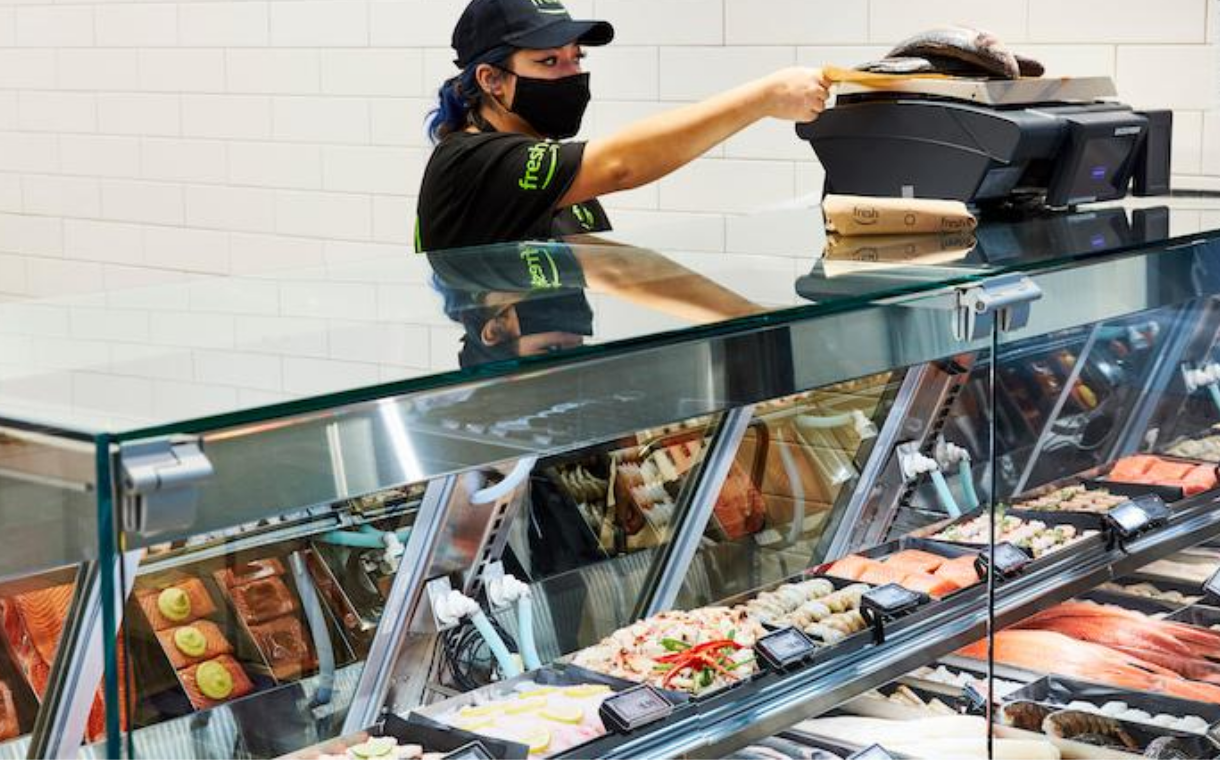 Amazon to introduce grocery store concept with smart carts