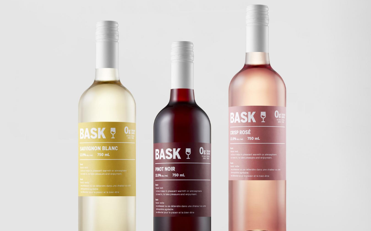 Arterra Wines Canada introduces Bask zero sugar wine