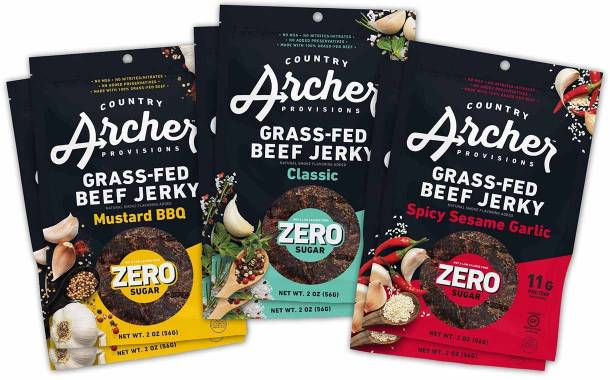 Country Archer Provisions debuts zero sugar beef jerky