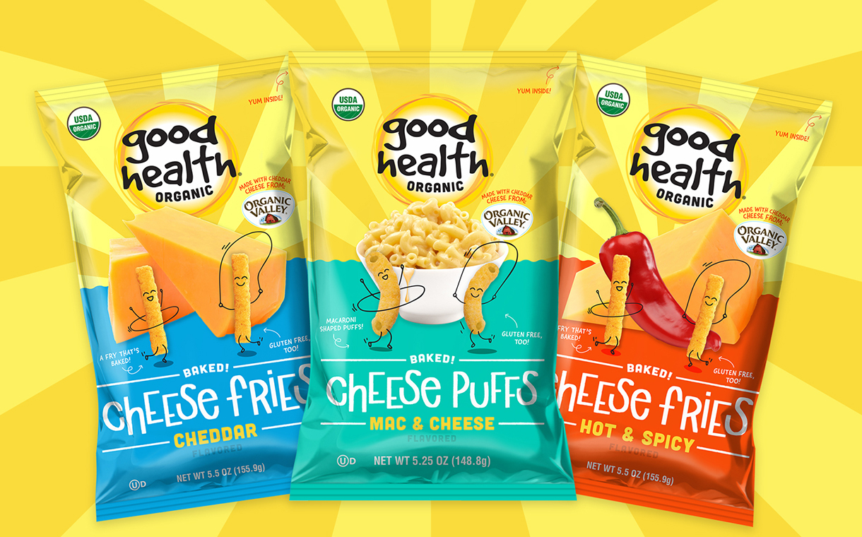Utz Quality Foods debuts organic cheese snacks in US