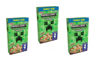 Kellogg's and Minecraft unveil Creeper Crunch Cereal