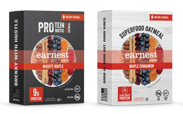 Earnest Oats unveils instant oatmeal with probiotics