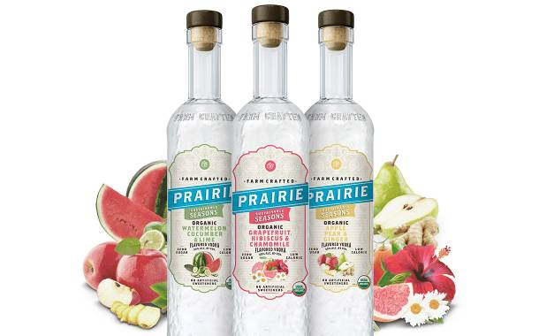 Prairie Organic launches vodka botanical collection