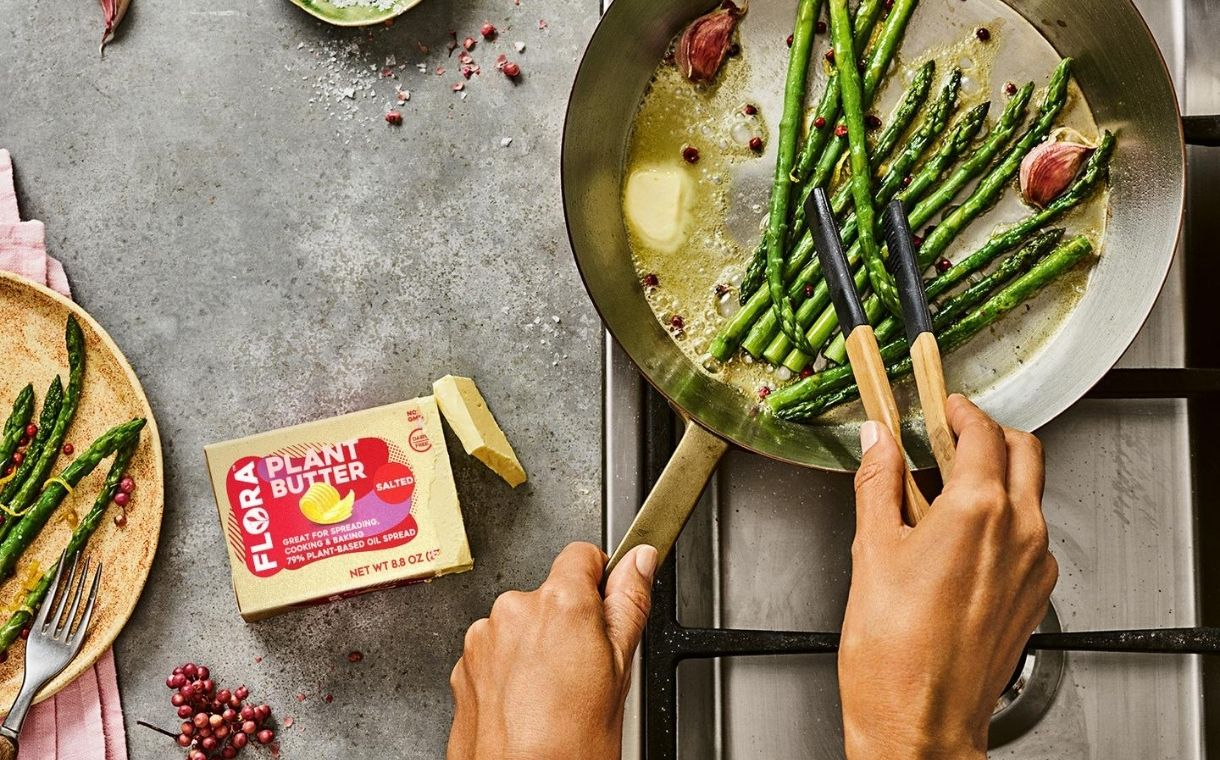 Upfield Group unveils Flora Plant Butter in the US