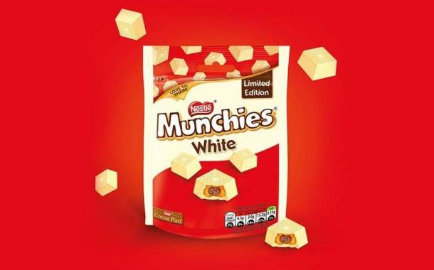 Nestlé unveils limited-edition white chocolate Munchies
