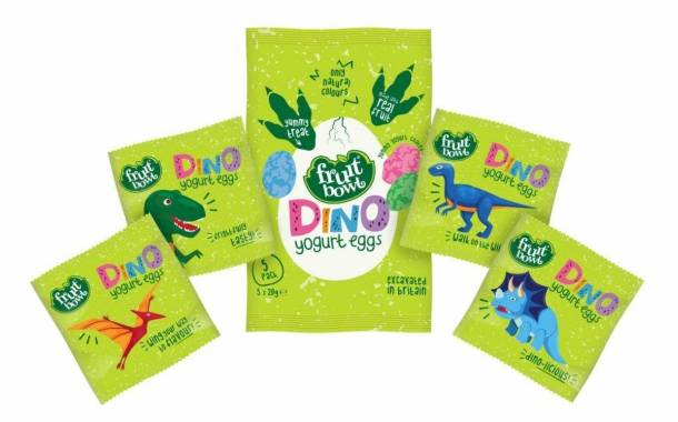 UK snack brand Fruit Bowl unveils Dino Yogurt Eggs
